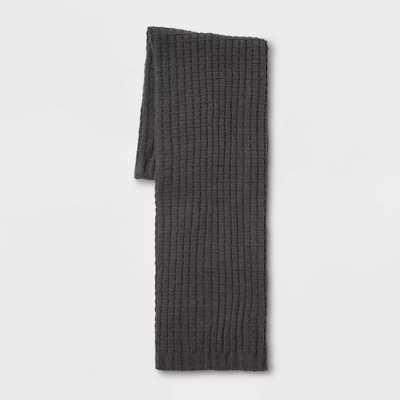 Chenille Throw Blanket - Threshold - Gray - Target
