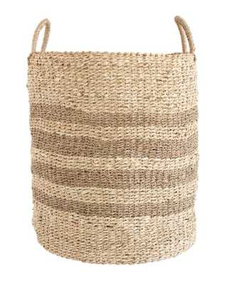 WOVEN STRIPE BASKETS - McGee & Co.