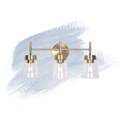 Russell 3-Light Dimmable Vanity Light - Birch Lane