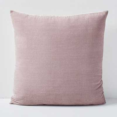 "Lush Velvet Pillow Cover, 20""x20 -individual - West Elm"