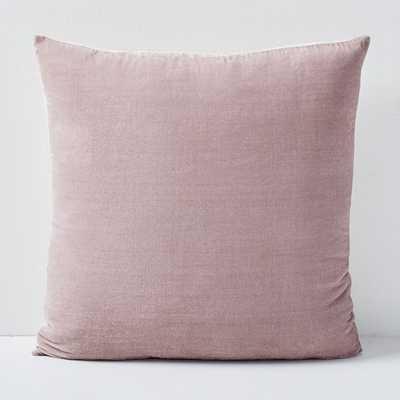 "Lush Velvet Pillow Cover, 20""x20 -individual - West Elm"