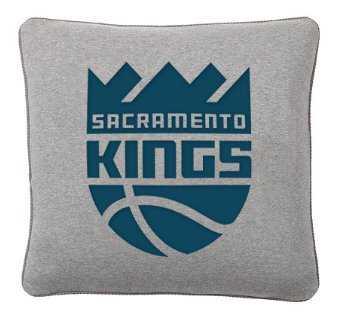 NBA Print On Demand Pillow Cover, 18X18- Kings - Pottery Barn Teen