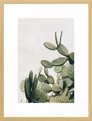 Cactus on blue sky #society6 #decor #buyart Framed Art Print - Society6