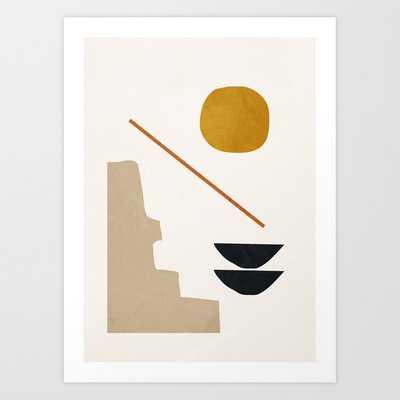 "abstract minimal 6 Art Print by ThingDesign  17""x22"" - Society6"