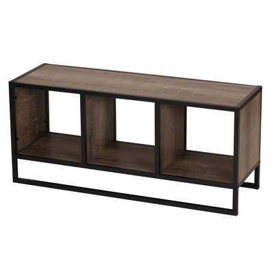 Hollie Coffee Table with Storage Shelf - Wayfair