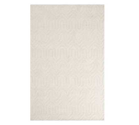 Nielsen Hand Tufted Wool Rug - Pottery Barn