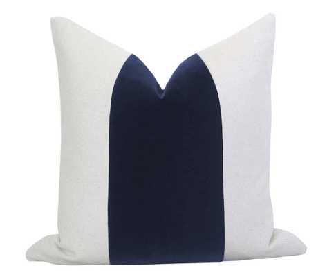 "Mezzo Pillow Cover - Regal Navy 20"" - Willa Skye"