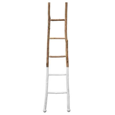 WOOD 6 FT BLANKET LADDER - Birch Lane