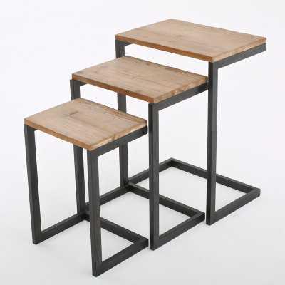Cetus 3 Piece Nesting Tables - Wayfair