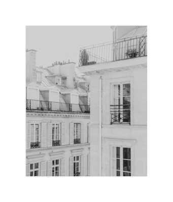 Parisian Rooftops Art Print - Minted