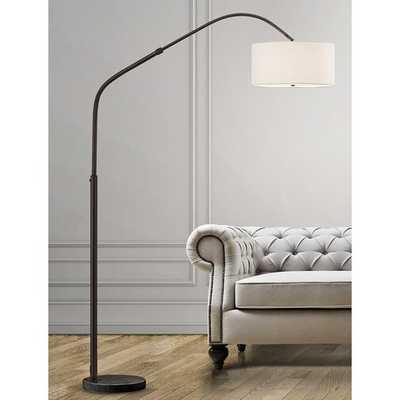 "Germantown Aero Retractable 81"" Arc Floor Lamp - Wayfair"