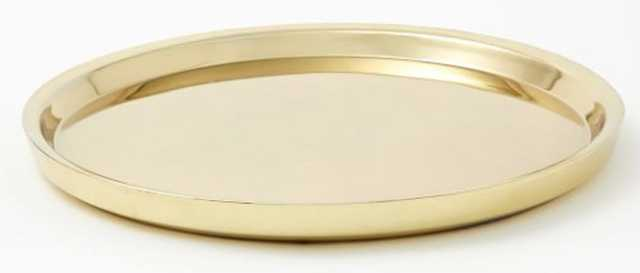 Chelsea Barware, Brass, Tray - West Elm