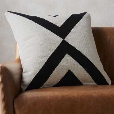 """""""23"""""""" xbase pillow with feather-down insert"""" - CB2"""