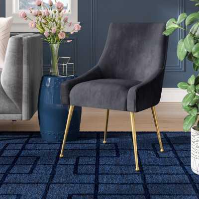 Dusek Velvet Upholstered Side Dining Chair - Wayfair