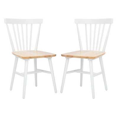 Spindle Windsor Back Side Chair (Set of 2) - Wayfair