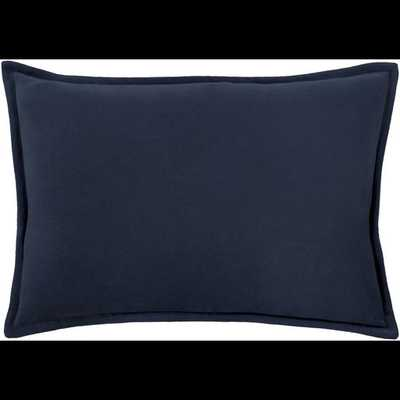 "Cotton Velvet, 13"" x 19"" with Down Insert - Neva Home"