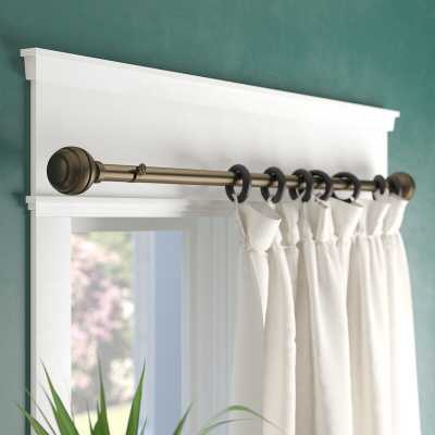 Pepin Curtain Single Rod - Wayfair