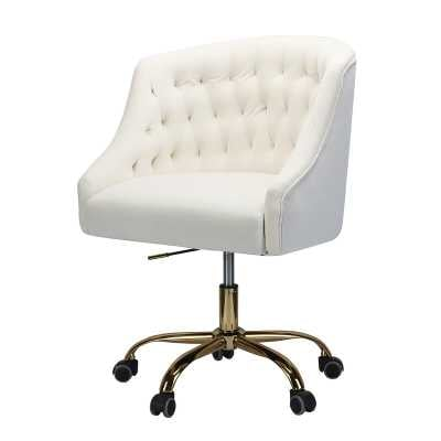 Louise Task Chair / Ivory - Wayfair