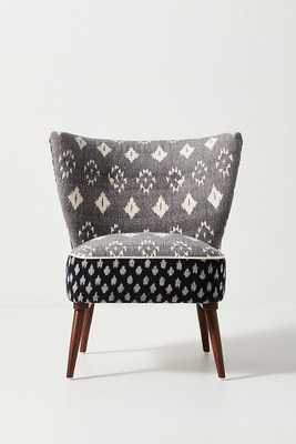 Woven Ikat Petite Accent Chair - Anthropologie