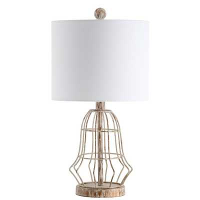 Canes Table Lamp - Metal Antiqued - Arlo Home - Arlo Home