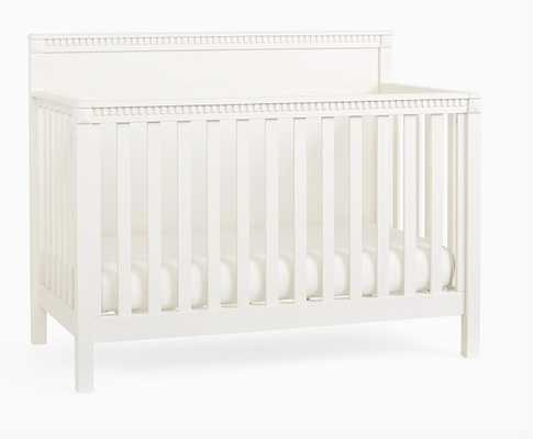 Rory 4-In-1 Convertible Crib, Montauk white - Pottery Barn Kids