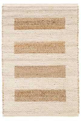 MILO IVORY WOVEN JUTE/COTTON RUG 8x10 - Dash and Albert