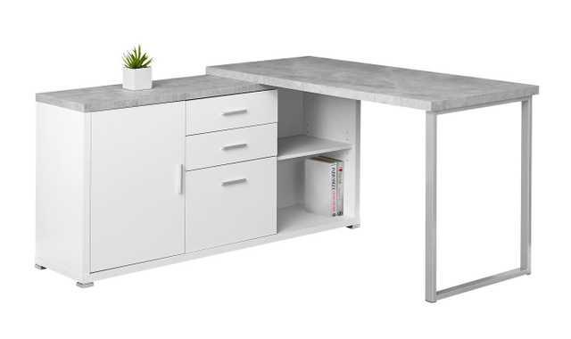 Dariell L-Shape Corner Desk - Wayfair