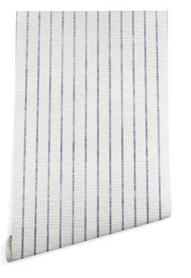 AEGEAN WIDE STRIPE Wallpaper - Wander Print Co.