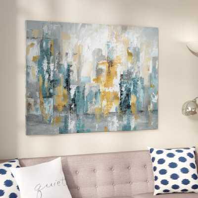 'City Views II' - Wrapped Canvas Painting Print - Wayfair