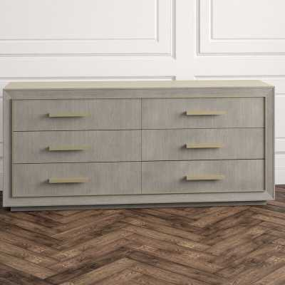Century Monarch Kendall 6 Drawer Double Dresser - Perigold