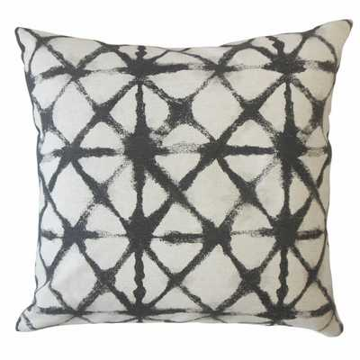 "GERICA IKAT PILLOW INK, 18"" x 18"" - Linen & Seam"