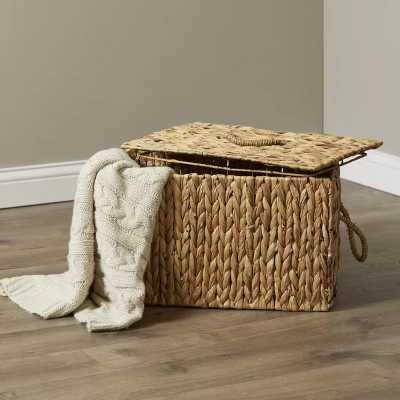 Donata Wicker Rattan Basket - Wayfair