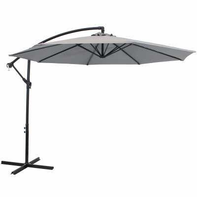 Leon 9.5' Cantilever Umbrella - Wayfair
