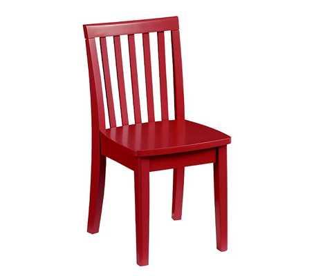 Carolina Play Chair Set of 4, Retro Red - Pottery Barn Kids