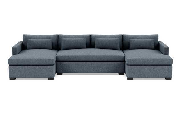 CHARLY U-Sectional Sofa - Interior Define