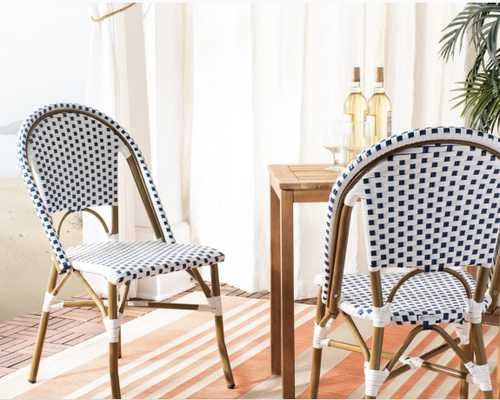 Safavieh Dining Rural Woven Stackable Dining Chairs (Set of 2) - Overstock