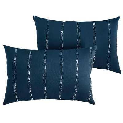 Balentine Indoor/Outdoor Lumbar Pillow (Set of 2) - Wayfair