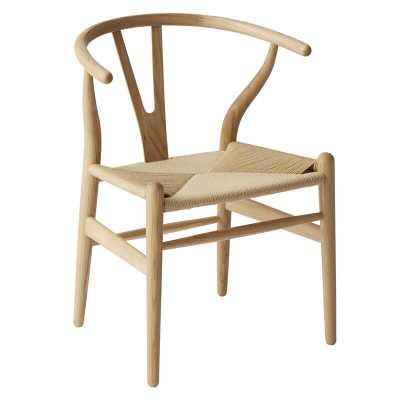 Zeller Solid Wood Dining Chair (Set of 2) - AllModern