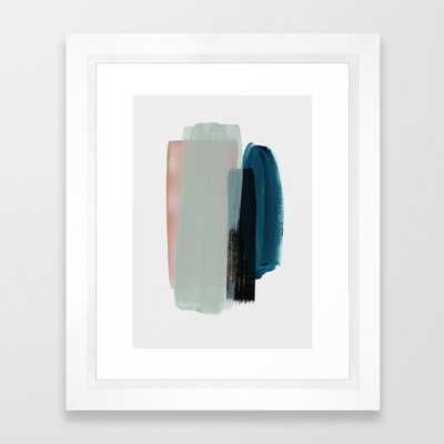 minimalism 12 Framed Art Print, mini 10 x 12 - Society6