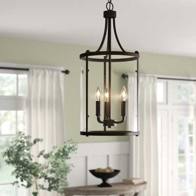 Northport 3-Light Lantern Chandelier, Oil Rubbed Bronze - Wayfair