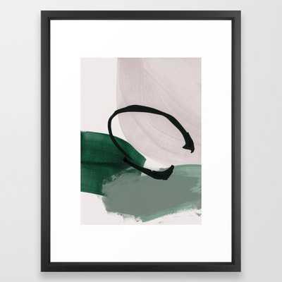 "minimalist painting 01 Framed Art Print-  20"" X 26"" - Society6"