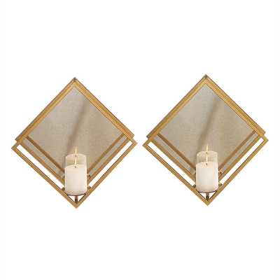 Zulia, Candle Sconce, S/2 - Hudsonhill Foundry