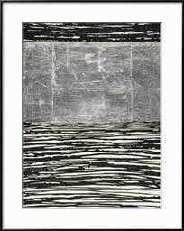 "Shine a Light II By Natalie Avondet- 30"" x 40""- Art Print- Ronda Ii Black Frame- Crisp - Bright White 2.5"" Mat - art.com"