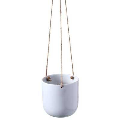 Marquise Ceramic Hanging Planter - Wayfair