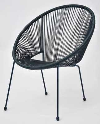 Fisher Stack Patio Egg Chair Blue - Project 62™ - Target