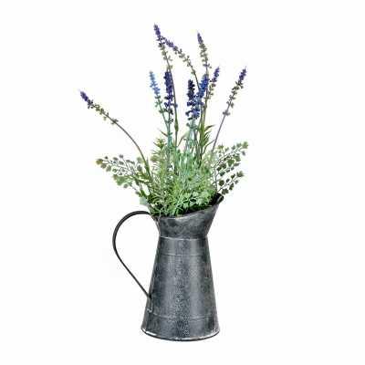 Lavender Floral Arrangement in Pot - Wayfair