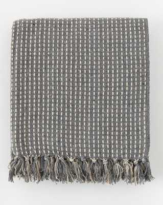 BROKEN WEAVE COTTON THROW - McGee & Co.
