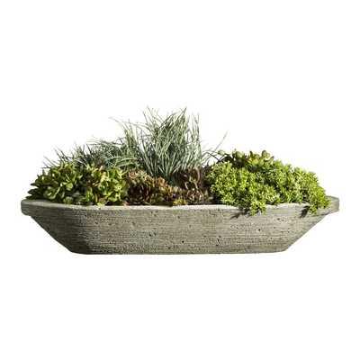 Jacinto Cast Stone Pot Planter - Wayfair