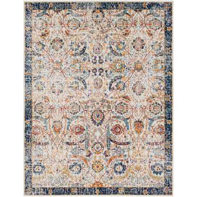 Hillsby Blue/Beige Area Rug-Blue/Beige - Wayfair