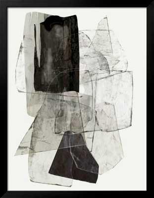 "Blotting Ink I_The Frame: Gramercy Black_Finished Size: 36"" x 46"" - art.com"